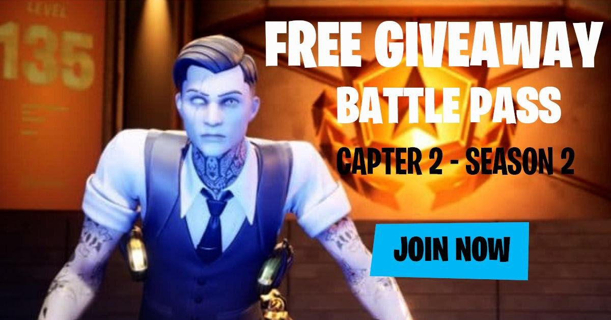 Fortnite Giveaway Battle Pass Free Giveaway Fortnite Battle Pass