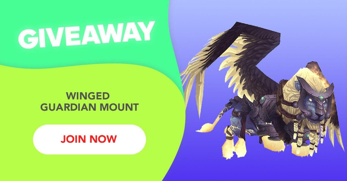 Dungeon Quest Roblox Giveaway List Free Giveaway Winged Guardian Mount
